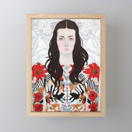 Angelene Framed Mini Art Print