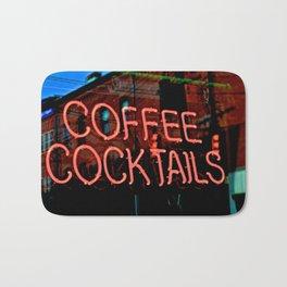 Coffee Cocktails Bath Mat