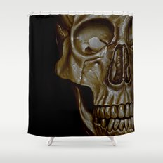 Skulled Shower Curtain