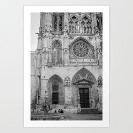 Cathedral III Art Print