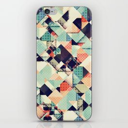Jumble of Colors And Texture iPhone Skin