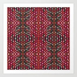 Nazca Code Art Print