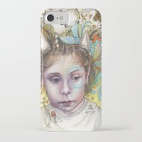 creativity iPhone & iPod Cases featuring Creativity by busymockingbird