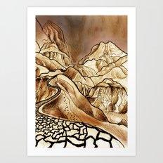 Journey Through Israel Art Print