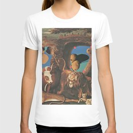 Warhol's Cantaloupes In The Peaceable Kingdom  T-shirt