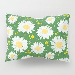 Spring Dream Daisies Pillow Sham