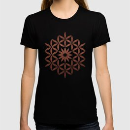 The Flower of Life - Ancient copper T-shirt