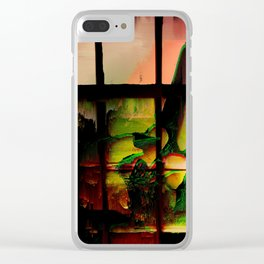 Subconscious Mind Clear iPhone Case