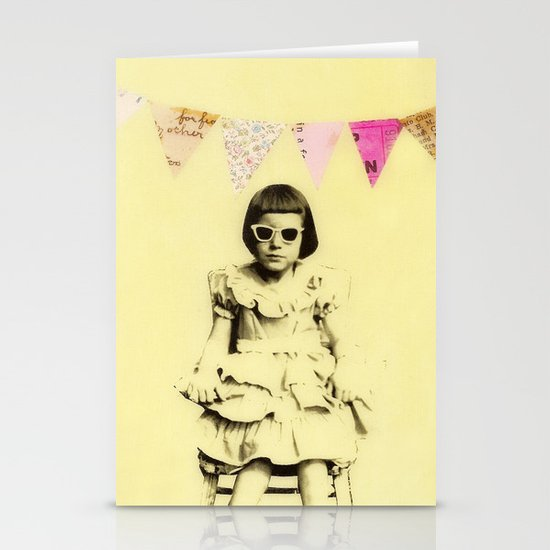 """""""Partially Amused"""" Stationery Cards"""