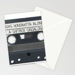 A Shitbox Singalong Stationery Cards