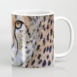 AnimalPaint_Cheetah_20171201_by_JAMColorsSpecial Coffee Mug