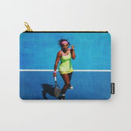 Serena Williams Tennis Celebrating Carry-All Pouch