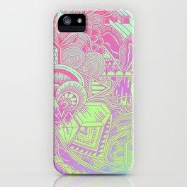 Hologram Wave iPhone Case