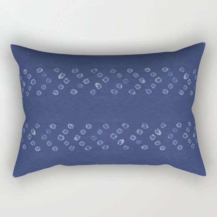 Shibori Arrow Rectangular Pillow
