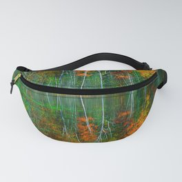 Forest and Lake Reflection Fanny Pack