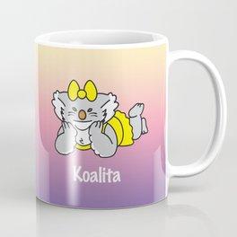 Lying Koalita Coffee Mug