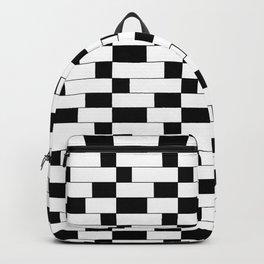 optical pattern 10 Backpack