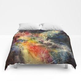 Deer constellation Comforters