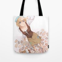 cinderella Tote Bags featuring Cinderella by Meredith Moriarty