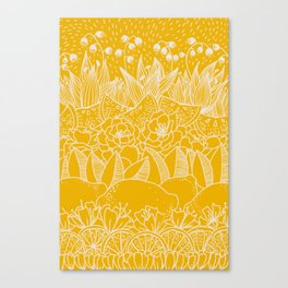 Sunshine Lemonade Garden Canvas Print