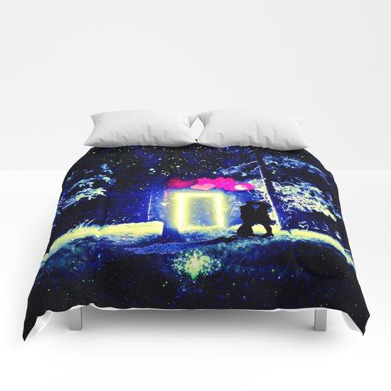 Love in the Dark Comforters