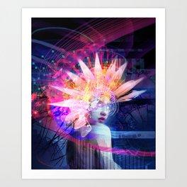 Transcendance Art Print