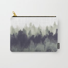 Mountain Forest Abstract Carry-All Pouch