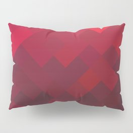 Red Impulse Pillow Sham
