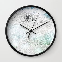 Tropical Splash Wall Clock