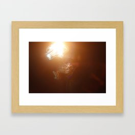 Ai Painting With Light Workshop - 047 Framed Art Print