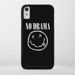 No Drama iPhone Case