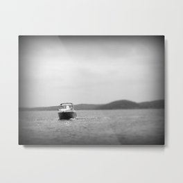 Water Travel Metal Print