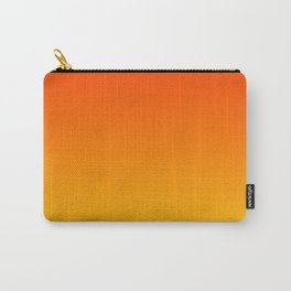 Orange & Yellow Color Gradient Carry-All Pouch