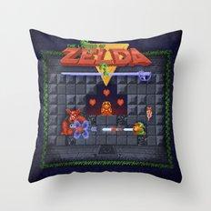 The Zelda of Legend Throw Pillow