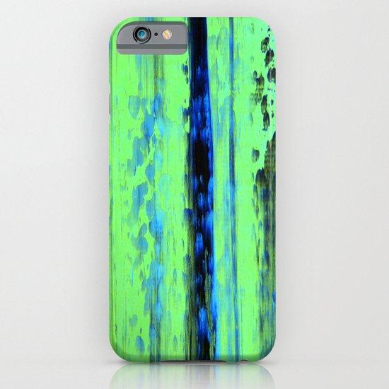 Urban Rain IV Painterly Abstract iPhone & iPod Case