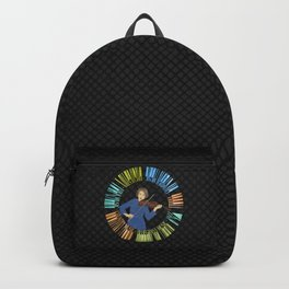 Violin Wreath Backpack
