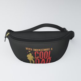 Never underestimate A Cool Dad with a Guitar Gift Fanny Pack