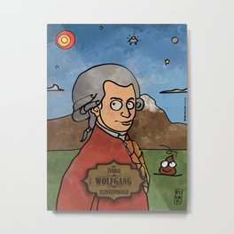 Wolfgang from Earth (Clavicembalo) Metal Print