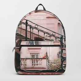 Bike in Paris Pink City Photography  Backpack