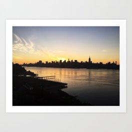 Good Morning NYC Art Print