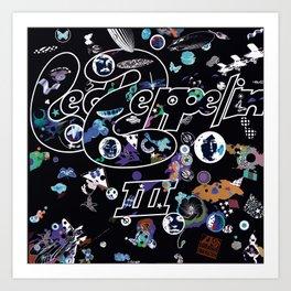 Zeppelin III Led (Deluxe Edition) by Zeppelin Art Print