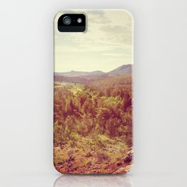 The Bigger Picture iPhone Case