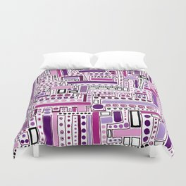 Happy New Year! Duvet Cover