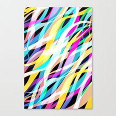 Surge of Colour Canvas Print