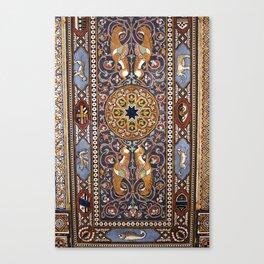 ART NOUVEAU - Giardini - Sicily Canvas Print