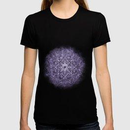 Vintage Lavender Watercolor Mandala T-shirt