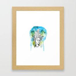 inocencia Framed Art Print