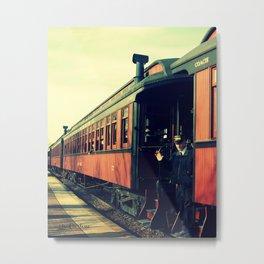 Train Coach Metal Print