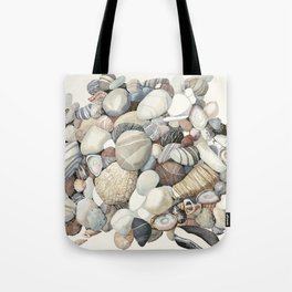 Sea shore of Crete Tote Bag