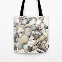 Sea shore of Crete Tote Bag